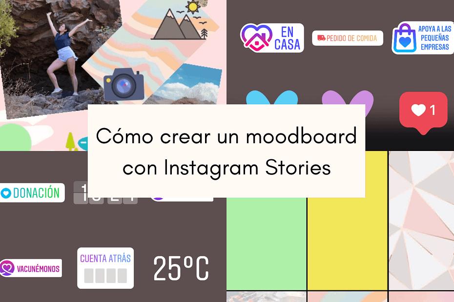 cómo crear un moodboard