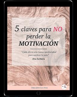 iPad mock up 5 claves para no perder la motivación